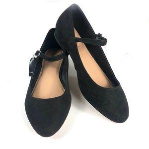 Torrid NEW Black Mary Jane Micro Heel Size 10